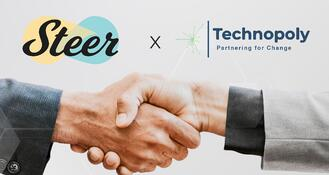 Steer partners with Technopoly, Inc.