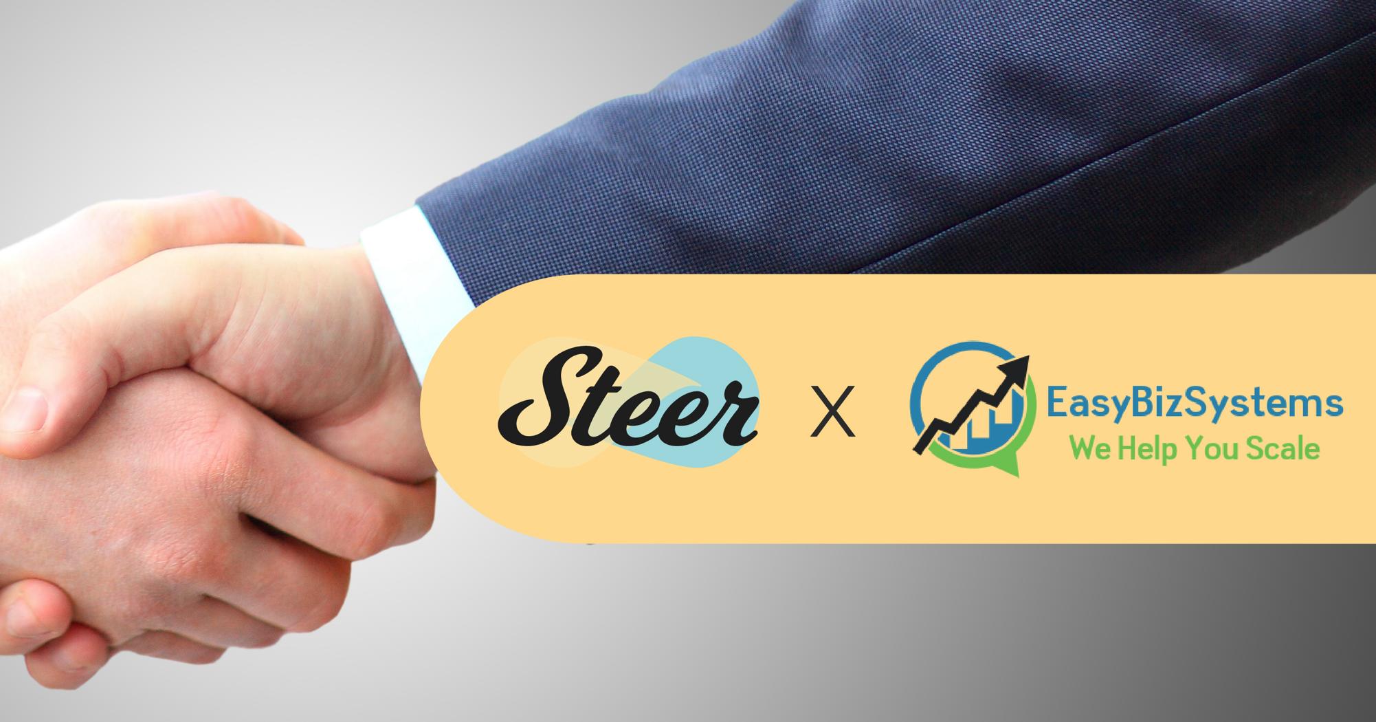 Steer partners with EasyBizSystems