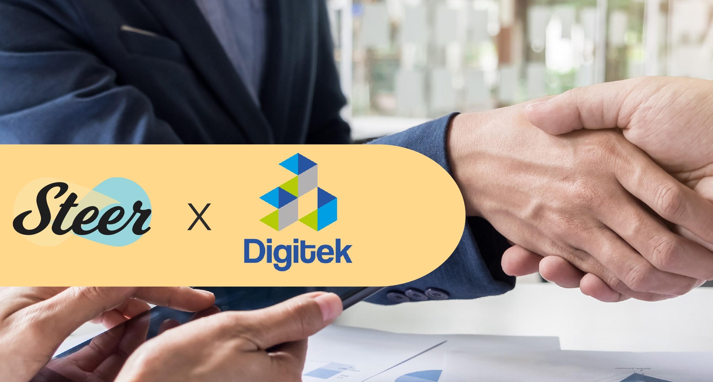 Steer partners with Digitek